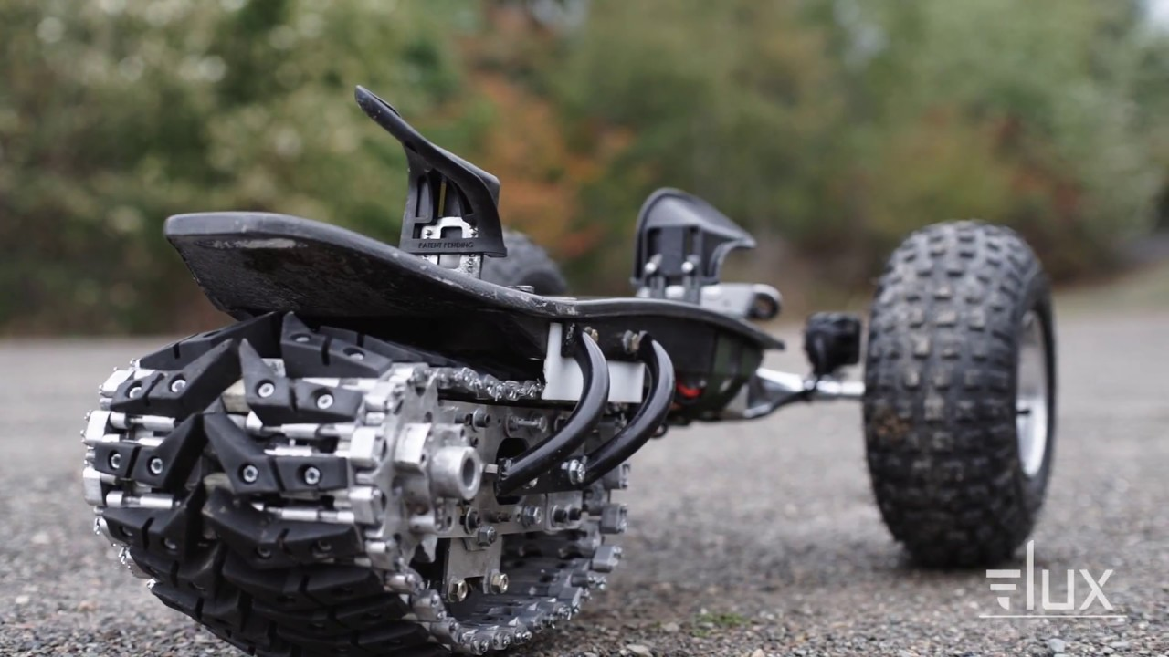 Track 1 By Flux Design Co All Terrain Electric Board