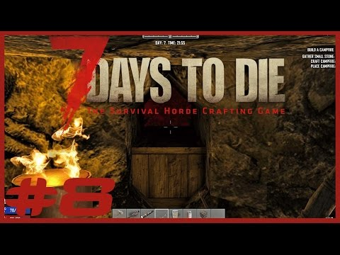 Data Play's - 7 Days to Die #8 - THE BLOOD MOON IS HERE!