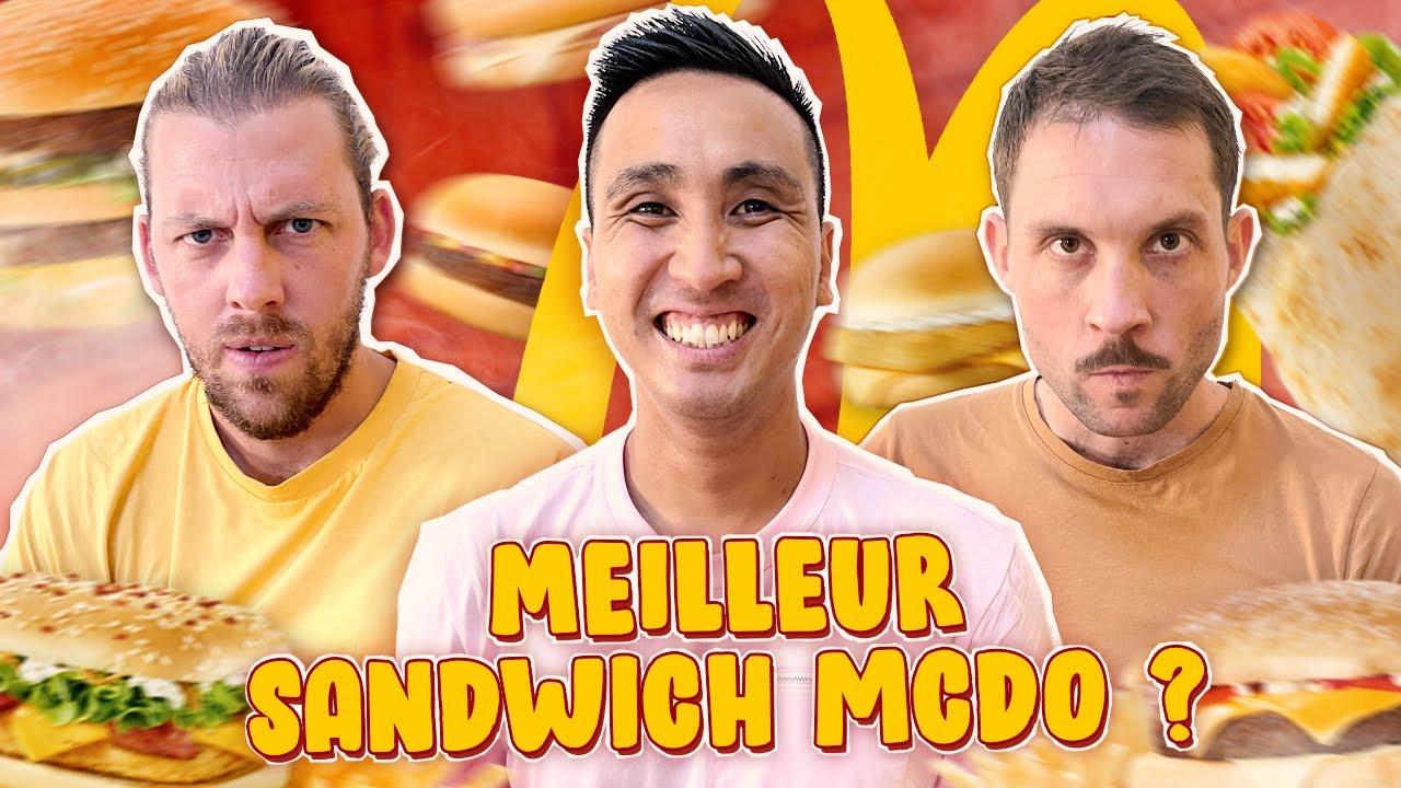 Download Compétition du meilleur sandwich McDo (la finale est improbable)