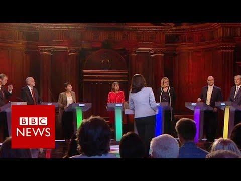 BBC debate: Rivals attack Theresa May over absence - BBC News