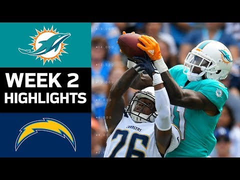 Dolphins vs. Chargers | NFL Week 2 Game Highlights