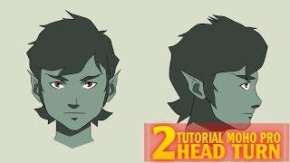 Tutorial HEAD TURN | VISTA PERFIL | MOHO PRO 12