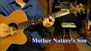 Mother Nature's Son (Guitar cover)