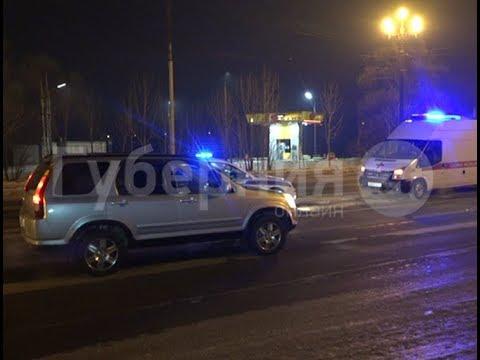 Автолюбительница сбила нетрезвого пешехода на дороге в Хабаровске. Mestoprotv