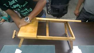 Unboxing Portable Laptop table