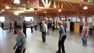 Country line dance KBO Panningen 19 oktober 2015 Una Mas