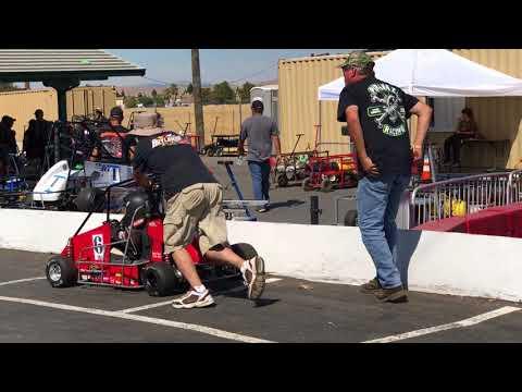 California Monza, Leg #4, Junior Honda Main