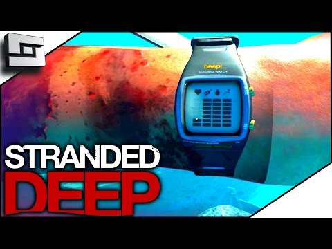 Stranded  Deep Gameplay - SHARK ATTACK! SEND HELP! S3E13