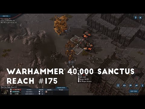 Cutting The Wolf's Throat Part 3 | Let's Play Warhammer 40,000 Sanctus Reach #175 |