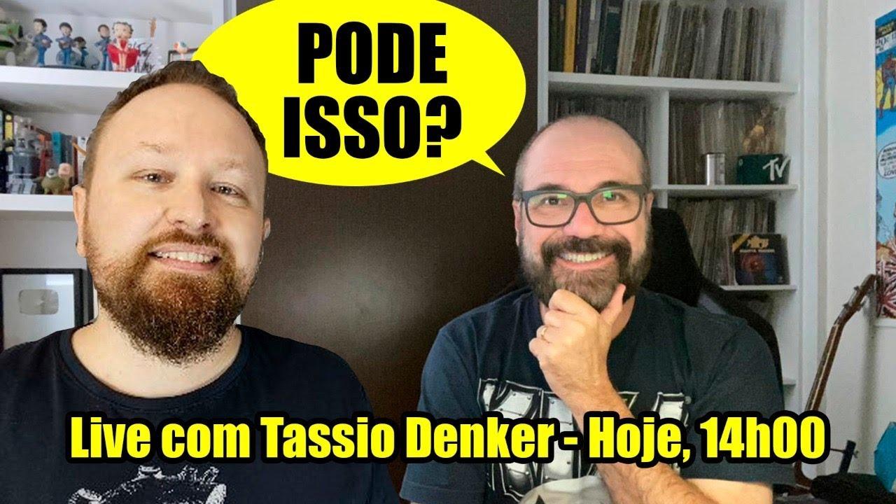 Live! Com Tassio Denker: Sikêra Jr., anúncio falso e voto impresso