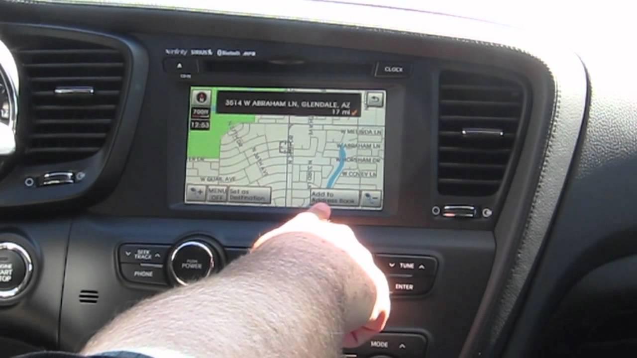 2011 Kia Optima Navigation System YouTube
