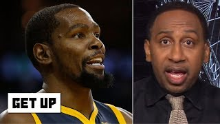 If Kawhi signs with the Lakers, KD must return to the Warriors - Stephen A. | Get Up