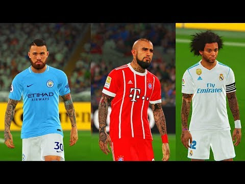 PES 2018 | High Quality Tattoo Pack ( Download + Install )