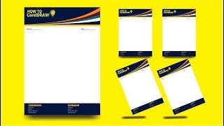 Letter Head | How to Design LetterHead / PAD in CorelDRAW x7 Mp3