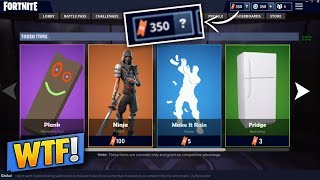 HAVE SKINS FOR FREE (1 VICTORY - 1 TOKEN) on FORTNITE!