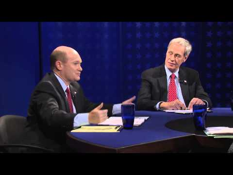 2014 Delaware Debates: U.S. Senate - Chris Coons vs. Kevin Wade, October 15, 2014