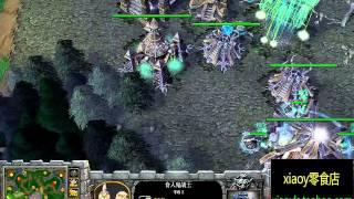 【一波囧了】魔兽争霸xiaoy解说lucifer vs sonik TM thumbnail
