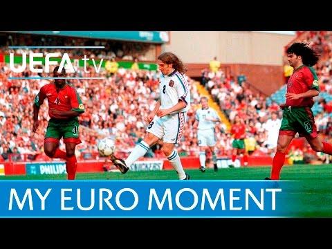 Karel Poborský On Lob - Czech Republic V Portugal At EURO 96