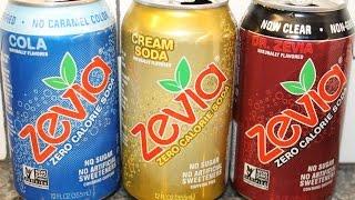 Zevia: Cola, Cream Soda & Dr. Zevia Review