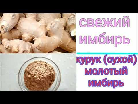 Имбирь-занжабил тугрисида кушимча маълумотлар