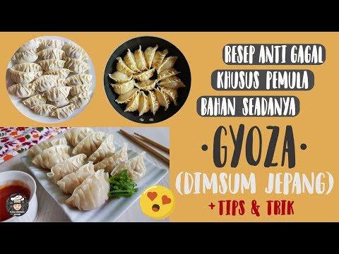 resep-dimsum-pemula!-gyoza-anti-gagal-lembut-&-crispy---cara-membuat-gyoza-ayam-mudah