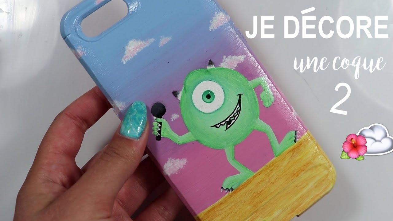 JE DESSINE SUR UNE COQUE DE TÉLÉPHONE♡