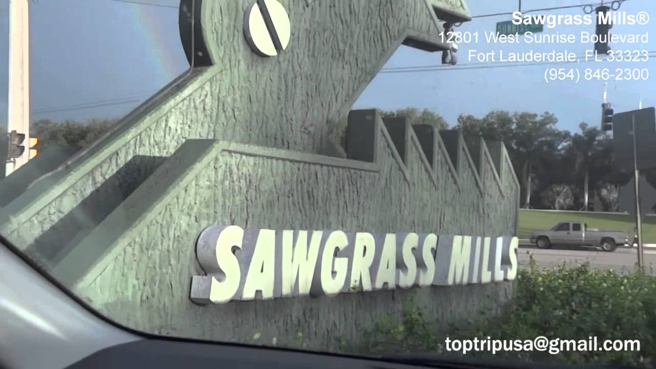 f6bf8e74e Miami s Shops HD - Dolphin Mall and Sawgrass Mills - Dica Compras em Miami