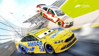 Cruz Ramirez Crashes Hard! | Forza Motorsport 6 | NASCAR Expansion