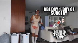 BBL DAY 1 RECOVERY PROCESS *the real, raw, & uncut*