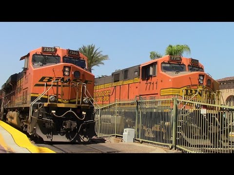 A ton of trains and some interesting catches at Fullerton! 8/18/16