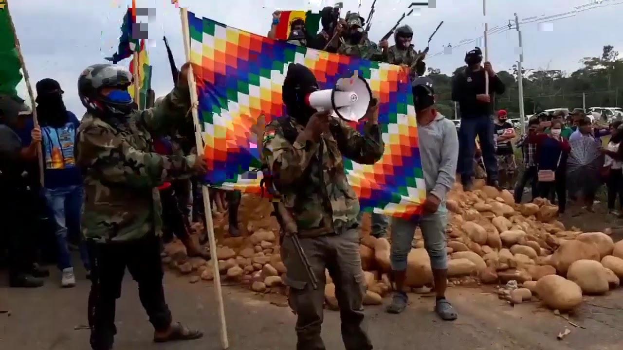 Grupo Armado en Yapacani pide la renuncia de la presidenta Añez