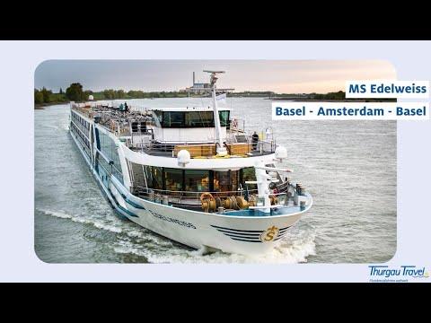 MS Edelweiss: Luxuriöse Rhein-Kreuzfahrt