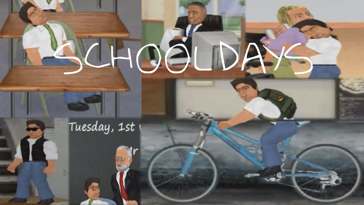 Mdickie School Days Gameplay Youtube