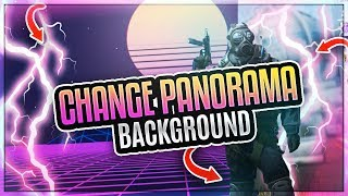 HOW TO CHANGE PANORAMA BACKGROUND ON CSGO!