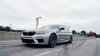homepage tile video photo for BMW M5 Competition at Lightning Lap 2019