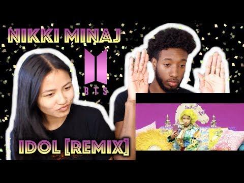 BTS (방탄소년단) 'IDOL (Feat. Nicki Minaj)' Official MV | REACTION