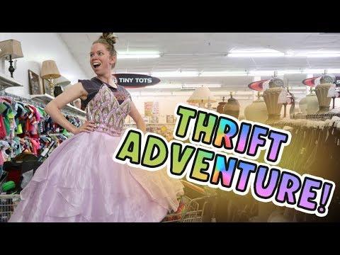 THRIFT Shopping ADVENTURE!-  Follow Me Around