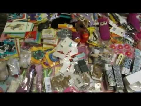 Massive michaels crafts 2 grab bag haul by mystique for Iowa largest craft show