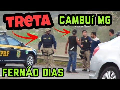 MANIFESTANTES PARAM A RODOVIA FERNÃO DIAS EM CAMBUÍ - MG