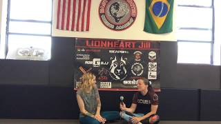 "In The Girls Corner interview with Jillian ""Lionheart"" DeCoursey, East Coast United Queens Academy."