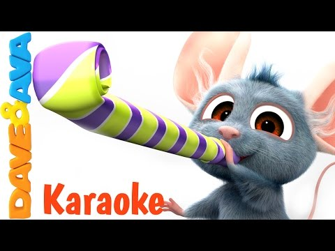 12345 Once I Caught a Fish Alive - Karaoke!   Nursery Rhymes Collection from Dave and Ava Baby Songs