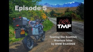 Scottish Western Isles by BMW R1200 GS | Episode 5 | The Isle of Skye to the Kyle of Lochalsh