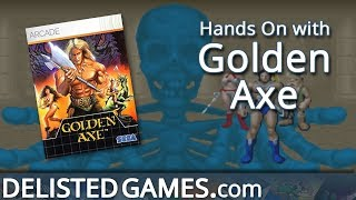 Golden Axe - Xbox 360 (Delisted Games Hands On)