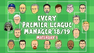 #1 EVERY PREMIER LEAGUE MANAGER - now on 442oons!