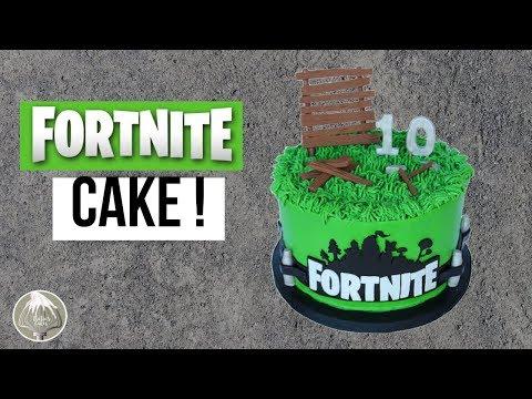 Fortnite Cake | Battle Royale Cake | Thalias Cakes