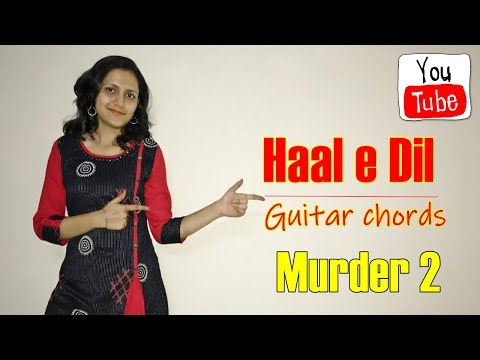 Haal e Dil   Guitar chords   Easy for beginners   Music wale