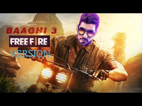 Baaghi 3 trailer free fire version || Full trailer with free fire world || Haude Gamers
