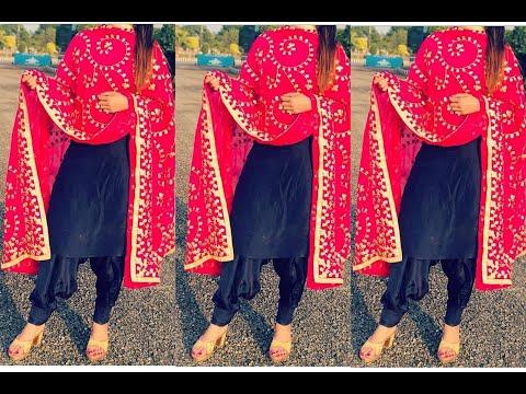 Top 10 plain  salwar suit designs 😍 Plain suit design with lace | Punjabi suit