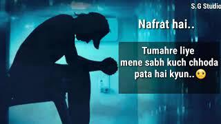 Nafrat.. ####...,, nfffrttt shayari.........
