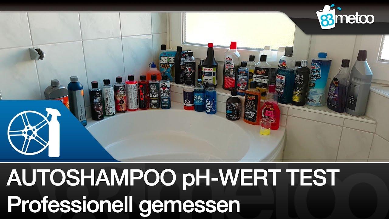autoshampoo ph wert test welche shampoo ist ph neutral. Black Bedroom Furniture Sets. Home Design Ideas